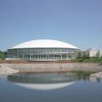 河内町総合運動公園屋内プール「ドリームプールかわち」 外観