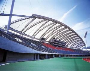 熊本県民総合運動公園陸上競技場  内観