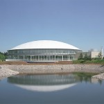 Dream Pool Kawachi (Indoor swimming pool in Kawachi Sports Park) (Outer appearance)