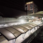 JR Universal City Station (Outer appearance)