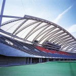 Kumamoto Prefectural Sports Park, Athletic Stadium (Inside)