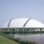 Konohana Dome (Outer appearance)