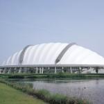Konohana Dome (Outer appearance)
